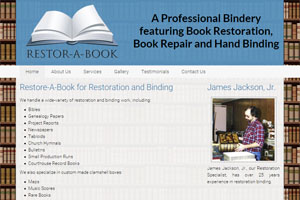 Web Development for Restor-A-Book
